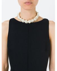 Simone Rocha - Natural Faux Pearl Necklace - Lyst
