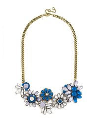 BaubleBar | Blue Crystal Firecracker Collar | Lyst