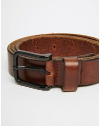 Royal Republiq - Leather Legacy Belt In Brown for Men - Lyst