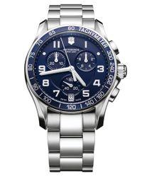 Victorinox - Metallic Mens Chronograph Classic Xls Watch for Men - Lyst