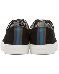 Paul Smith Black Indie Low-top Sneakers for men