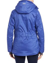 Helly Hansen Purple Blanchette Anorak Jacket