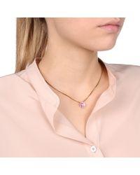 Stella McCartney - Pink Poppy Necklace - Lyst