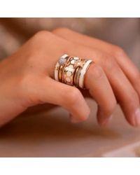 Astley Clarke | Metallic Gold Shine Ring | Lyst