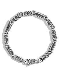 David Yurman | Metallic Chevron Link Bracelet for Men | Lyst