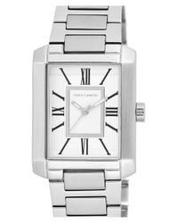 Vince Camuto | Metallic Rectangle Bracelet Watch | Lyst