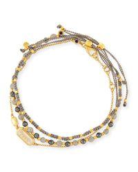 Astley Clarke - Blue Set Of Three Bracelets - Lyst