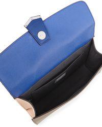 Fendi - Blue Demi-Jour Multicolor Satchel Bag - Lyst