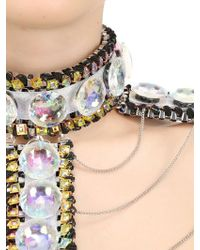 Only Child - Metallic Fool's Paradise Crystal Body Harness - Lyst