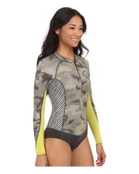 Billabong | Green Salty Daze Spring Long Sleeve Wetsuit | Lyst