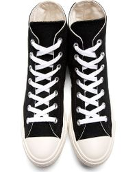 Play Comme des Garçons | Black Half Heart Converse Edition High-top Sneakers for Men | Lyst