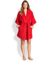 Lisa Marie Fernandez - Red Terry Beach Robe - Lyst