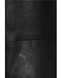 Balenciaga - Black Stretch-leather Leggings - Lyst