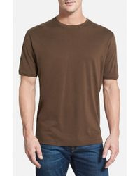 Tommy Bahama | Brown 'new Palm Cove' Original Fit T-shirt for Men | Lyst