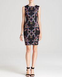 Mara Hoffman Black Dress Snake Print