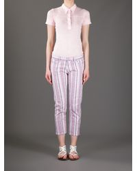Étoile Isabel Marant Pink Cooper Striped Jean