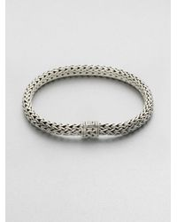 John Hardy | Metallic Medium Oval Chain Bracelet for Men | Lyst