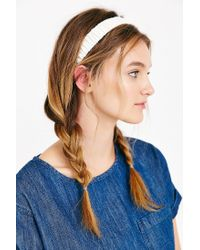 Urban Outfitters | White Leather Headwrap | Lyst