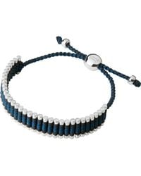 Links of London | Gray Friendship Bracelet Grey And Teal | Lyst
