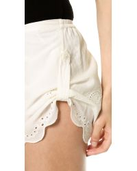 Spell Indian Summer Shorts - Off White