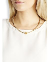 Alice Menter - Metallic Delphi Gold And Silver-plated Necklace - Lyst