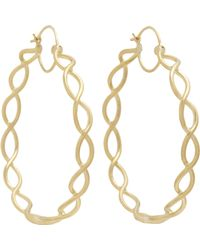 Irene Neuwirth | Metallic Braided Hoops | Lyst