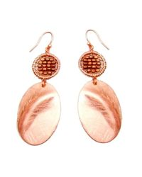 Nakamol | Multicolor Sida Earrings-copper | Lyst