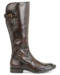Born | Brown Tallulah Tall Boots | Lyst