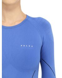 Falke | Blue Advanced Skier Long Sleeve T-shirt | Lyst