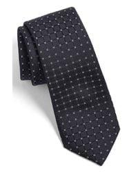 Calibrate | Black Woven Silk Tie for Men | Lyst