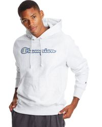 Champion Gray Life Exclusive Reverse Weave Hoodie