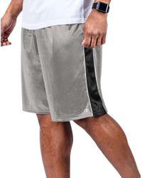 Champion - Gray Vapor® Big Contrast-pieced Short for Men - Lyst