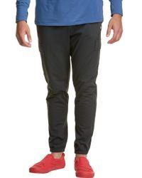 Champion Black Sport Cargo Pants for men
