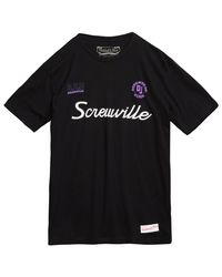 Mitchell & Ness Black Screwville Tee for men