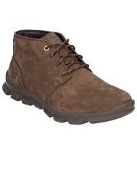 Caterpillar Brown Prepense Mens Casual Lace Up Boots for men