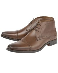 Lotus - Brown Rickard Mens Casual Leather Boots for Men - Lyst