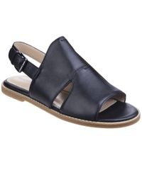 Hush Puppies - Black Adiron Chrissie Womens Flat Sandals - Lyst