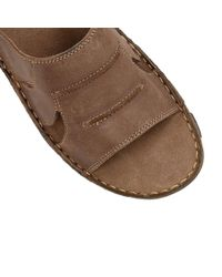 Lotus - Brown Campbell Slip On Sandals for Men - Lyst