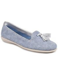 The Flexx - Blue Miss Take Milo Graffiti Womens Tassel Pumps - Lyst