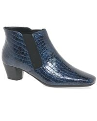 Charles Clinkard - Blue Handson Womens Ankle Boots - Lyst