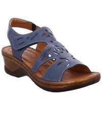 Josef Seibel Blue Catalonia 56 Womens Sandals