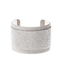 Charlotte Russe - Metallic Embellished Cuff Bracelet - Lyst