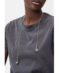 Cheap Monday - Metallic Ordinary Necklace - Lyst