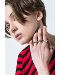 Cheap Monday - Multicolor Nailed Ring - Lyst