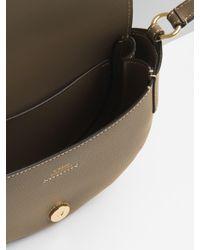 Chloé Green Small Darryl Saddle Bag