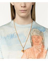 Christopher Kane - Multicolor Flower Charm Necklace - Lyst