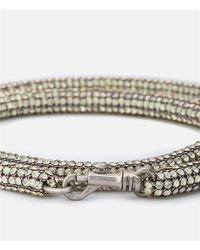 Christopher Kane - Metallic Long Bolster Necklace - Lyst