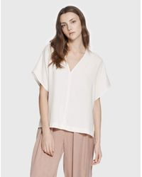 Cienne NY | White The Maya Top | Lyst