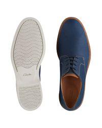 Clarks Blue Atticus Lace for men