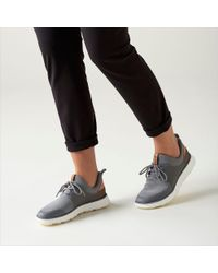 Clarks Lace Soopasft. 01 in Gray - Lyst